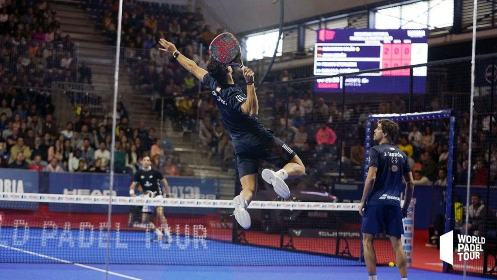 Ale Galan beim Smash beim Halbfinale beim WPT Master in Marbella