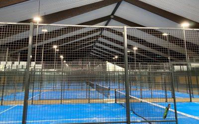 Von der ausgedienten Tennishalle zur größten Padel-Anlage in Deutschland